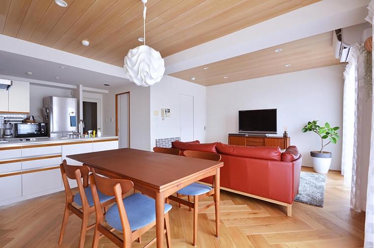 「アクタスの家具」に合わせて創り上げた理想の家